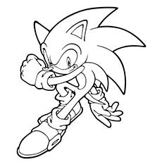 Dibujos De Sonic Para Colorear Dibujosonlinenet