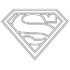 Dibujos De Superman Para Colorear Dibujosonlinenet