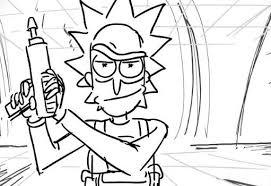 Dibujos De Rick Y Morty Para Colorear Dibujosonline Net