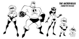 Dibujos De Los Increíbles 2 Para Colorear Dibujosonlinenet
