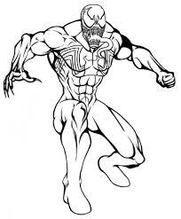 Dibujos de Venom para Colorear   DibujosOnline.Net