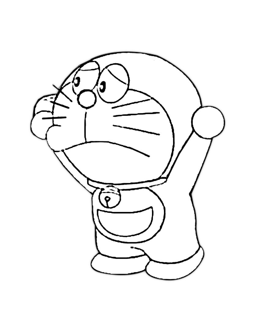 Dibujos de Doraemon para Colorear
