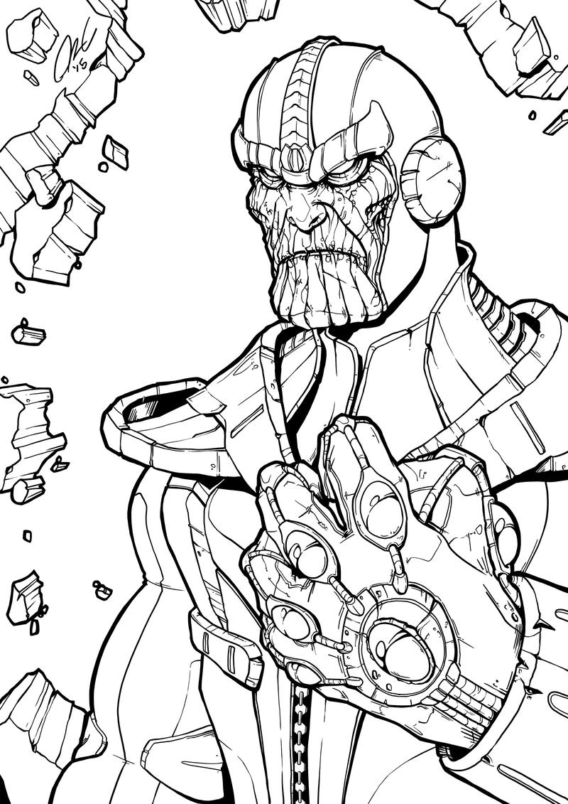 Dibujos de Marvel para Colorear