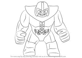 Kleurplaat Cactus Simpel Dibujos De Thanos Para Colorear Dibujosonline Net