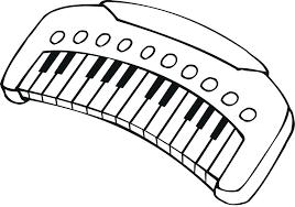 Dibujos De Piano Para Colorear Dibujosonlinenet