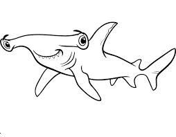 Dibujos De Tiburon Para Colorear Dibujosonlinenet