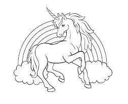 Dibujos De Unicornio Para Colorear Dibujosonlinenet
