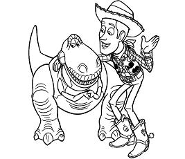 Dibujos De Woody Para Colorear Dibujosonlinenet