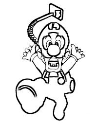Dibujos De Luigi Para Colorear Dibujosonlinenet
