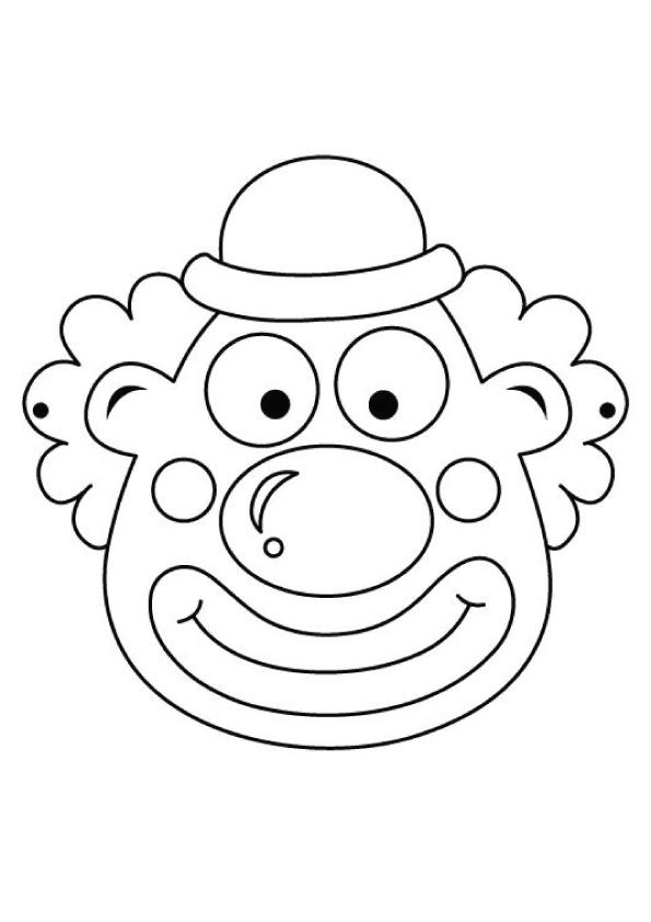 Dibujos De Mascara Joker Para Colorear Pintar E Imprimir
