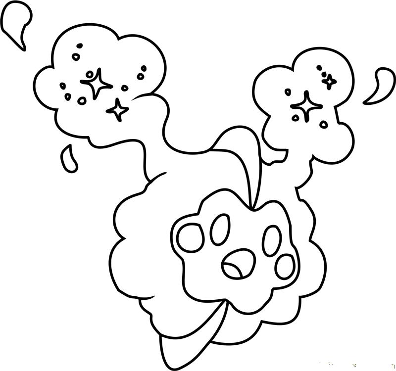 Pokemon Litten Kleurplaat Dibujos De Cosmog Pokemon Para Colorear Pintar E Imprimir