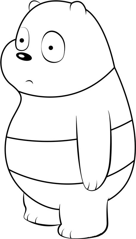 Dibujos De Oso Panda Lindo Para Colorear Pintar E Imprimir