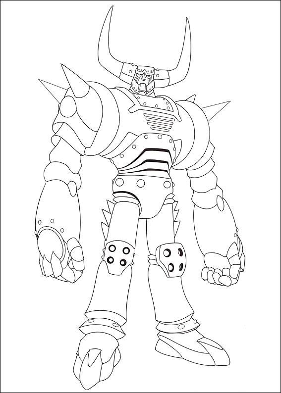 Dibujos de Plutón de Astro Boy para Colorear, Pintar e Imprimir ...