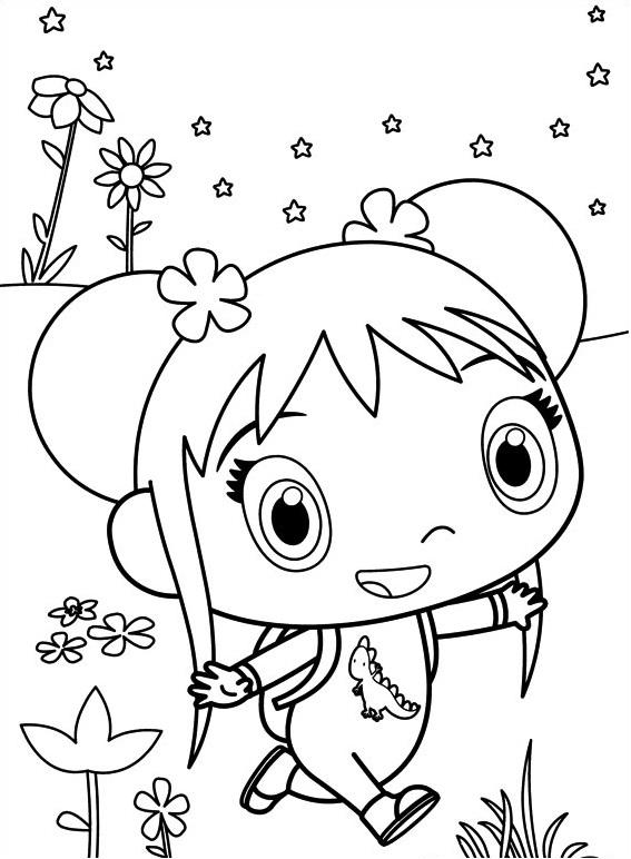Dibujos de Kai Lan Caminando para Colorear, Pintar e Imprimir ...