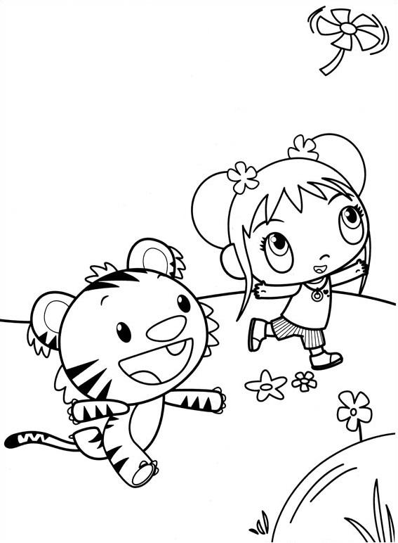 Dibujos de Rintoo y Kai Lan para Colorear, Pintar e Imprimir ...