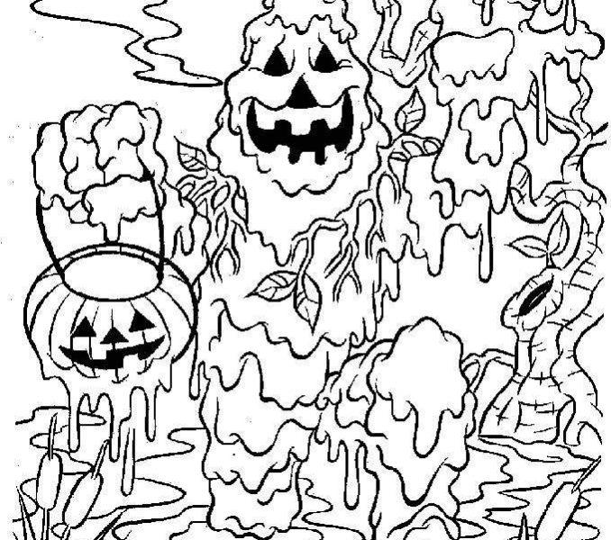 Dibujos de Monstruo Del Pantano para Colorear, Pintar e Imprimir ...