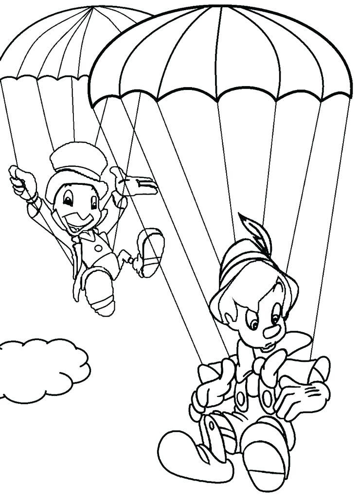 Dibujos De Grillo Jiminy Y Pinocho Para Colorear Pintar E