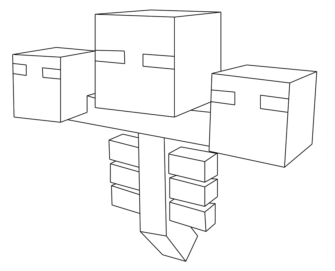 Minecraft Para Colorear: Dibujos Para Colorear E Imprimir De Minecraft