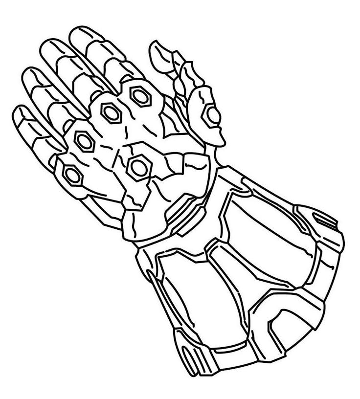 Dibujos De Thanos Para Colorear Paginas Para Colorear