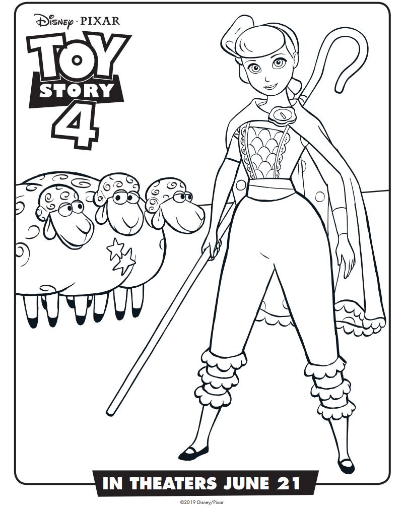 Dibujos De Betty Toy Story 4 Para Colorear Pintar E
