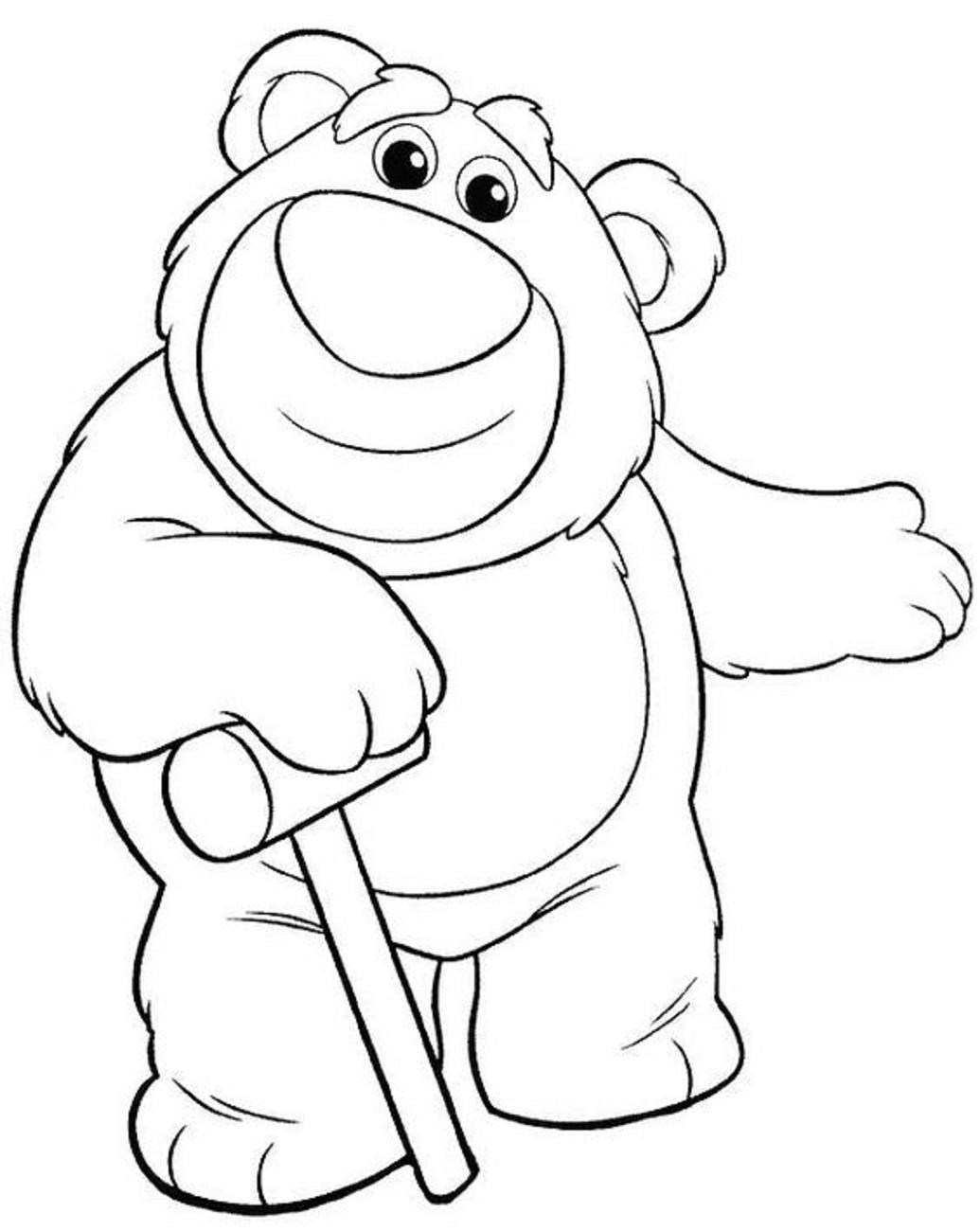 Dibujos De Losto Toy Story 3 Para Colorear Pintar E