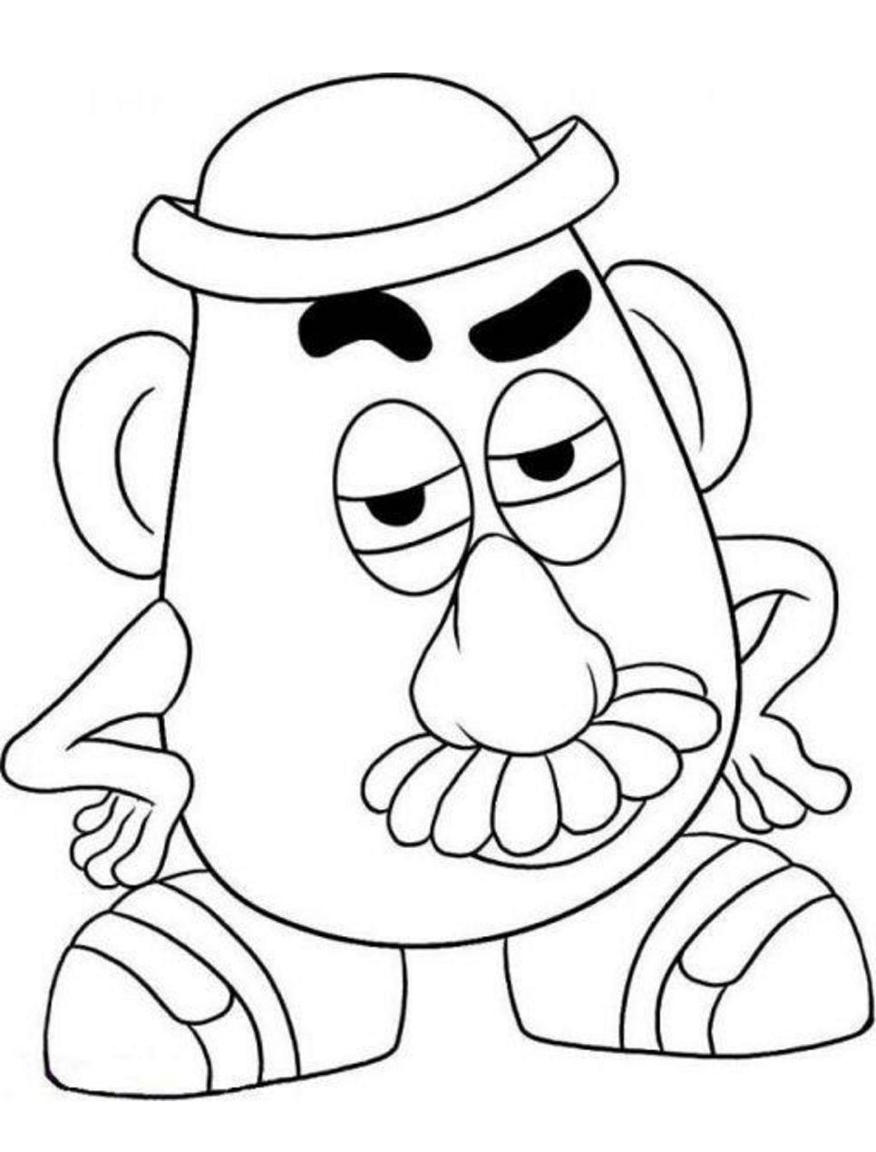 Dibujos De Sr Cara De Papa En Toy Story 4 Para Colorear