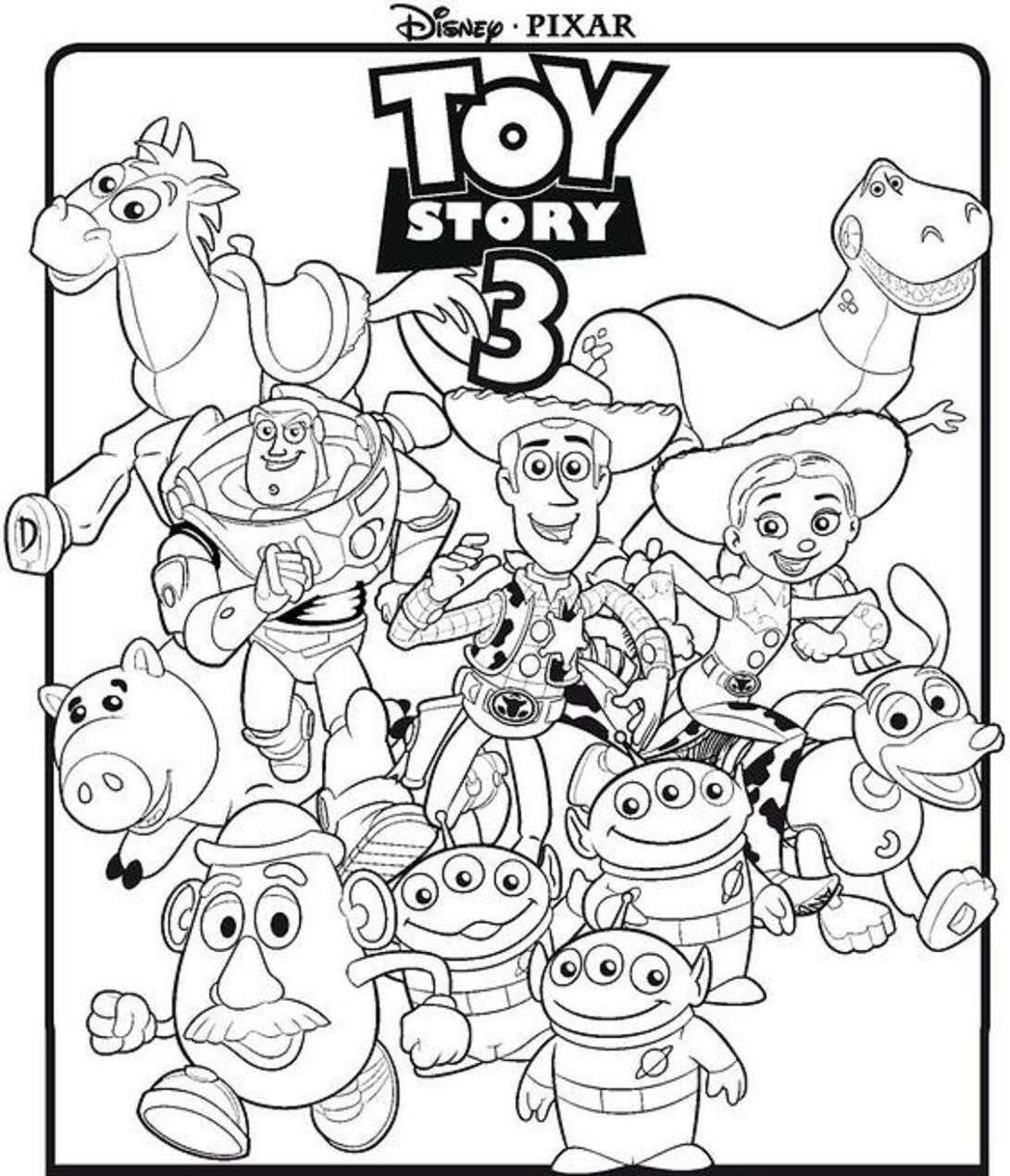 Dibujos Para Colorear De Toy Story Mejores Paginas Para Colorear